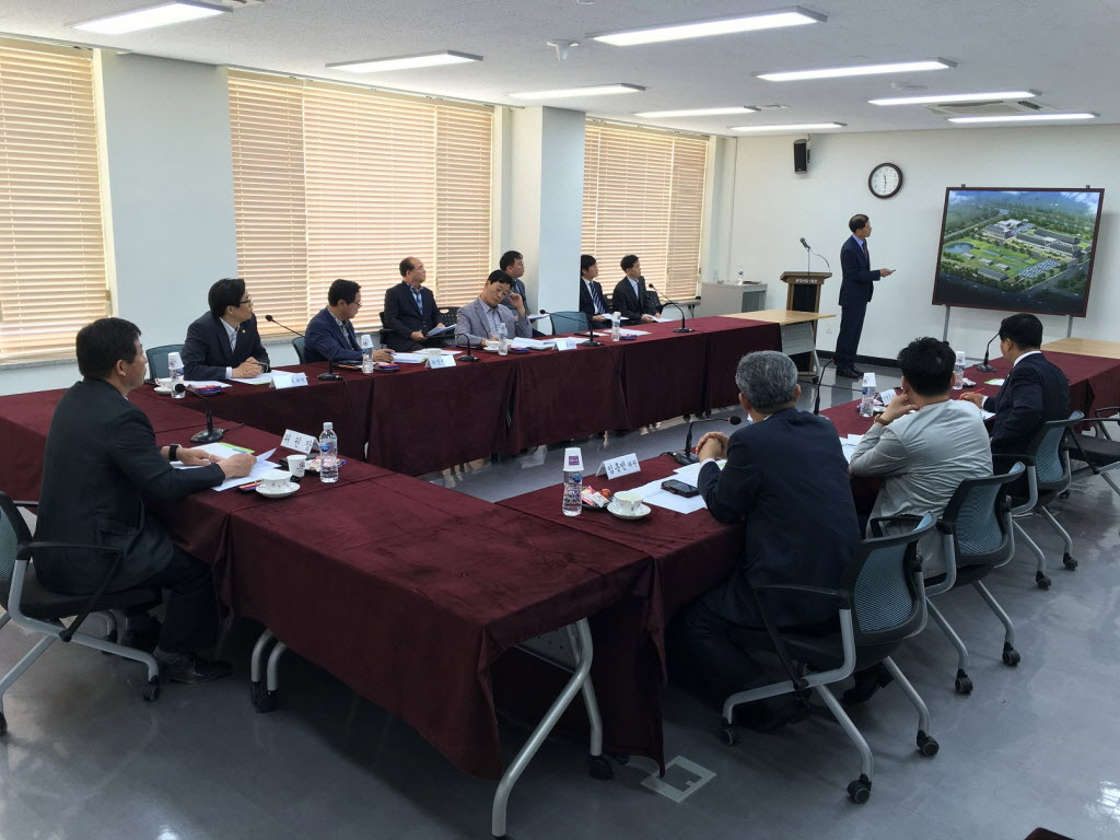 전라남도의회안전행정환경위원회위원우리원현장방문